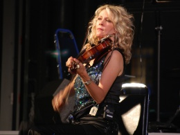 Natalie MacMaster at the Lowell Summer Music Series